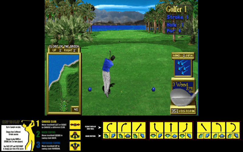 golden tee fore mame