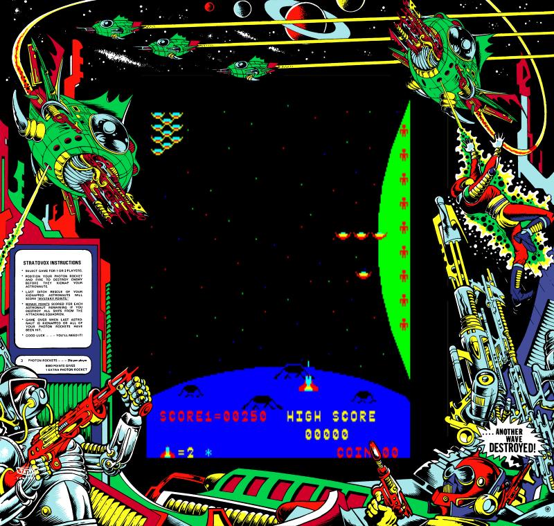 MAME Artwork Downloads - Mr. Do!'s Arcade