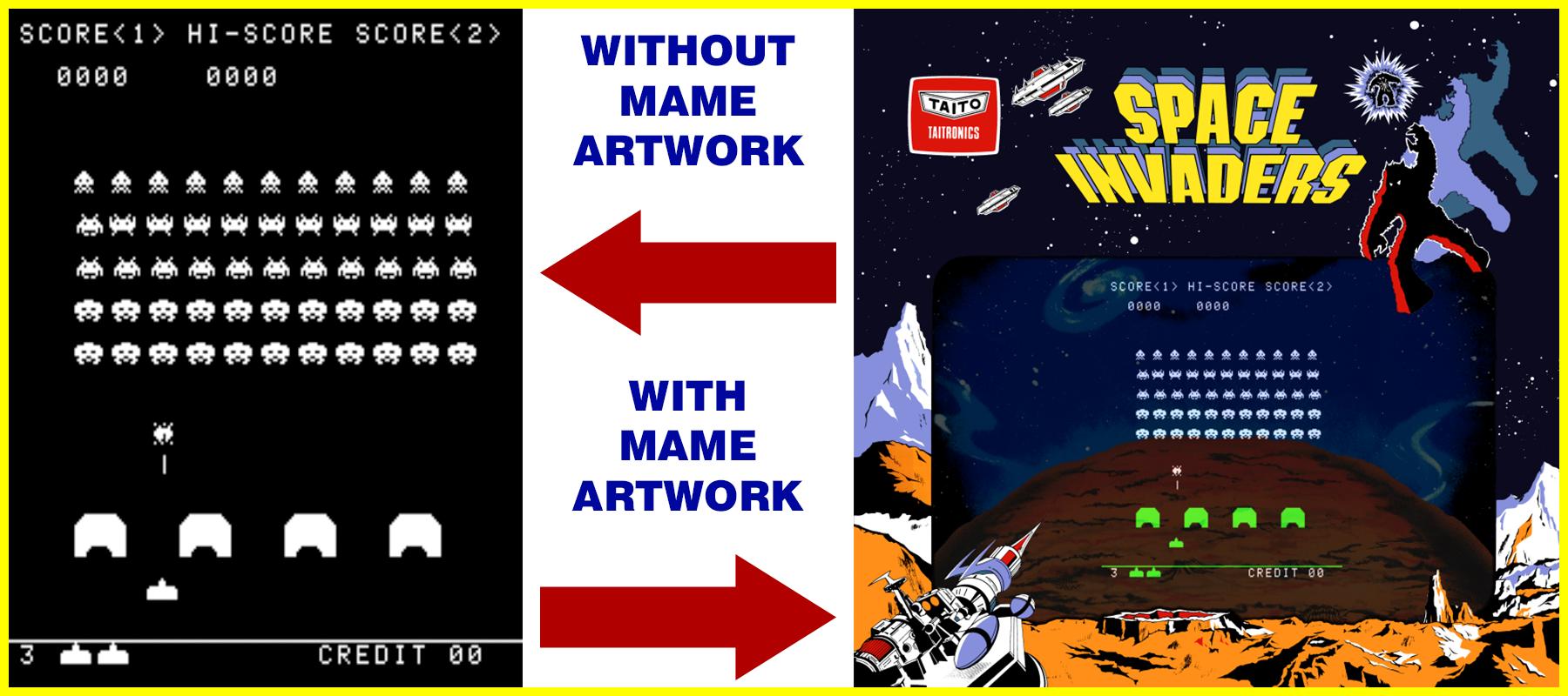 MAME Artwork and Arcade Artwork - Mr  Do!'s Arcade