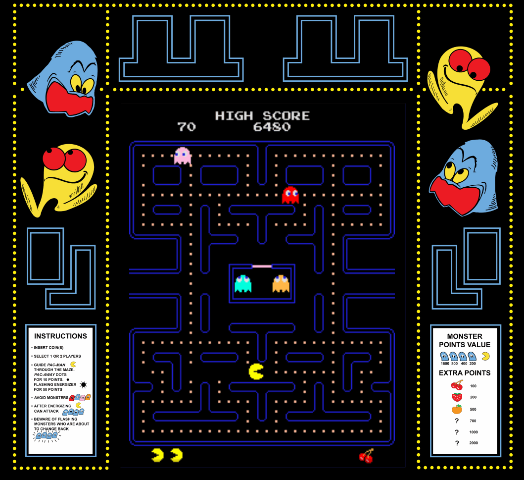 pacman arcade game free download
